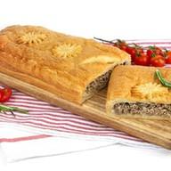 Пирог с мясом (слоеный) Фото