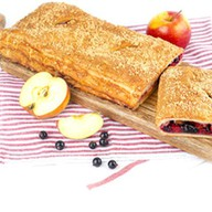 Пирог с яблоками и смородиной (слоеный) Фото
