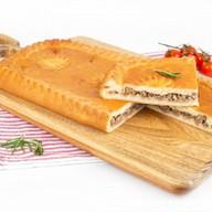 Пирог с мясом (сдобный) Фото
