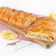 Пирог с горбушей (слоеный) Фото