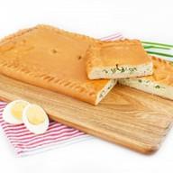 Пирог с зеленым луком и яйцом (сдобный) Фото