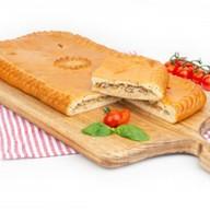 Пирог с мясом и капустой (сдобный) Фото