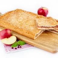 Пирог с яблоками и клюквой (постный) Фото