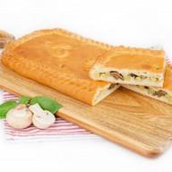 Пирог с грибами и картофелем (сдобный) Фото