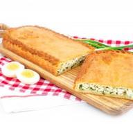 С зеленым луком и яйцом(сдобно-песочный) Фото