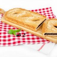 Пирог с черемухой (сдобно-песочный) Фото