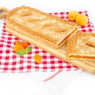 Пирог с курагой (сдобно-песочный) Фото