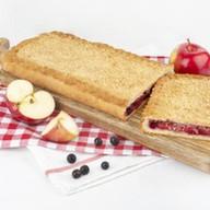 Пирог яблоко,смородина (сдобно-песочный) Фото