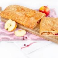 Пирог с яблоками и клюквой (слоеный) Фото