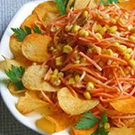 Салат с чипсами Фото