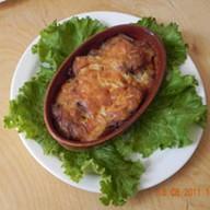 Свинина запеченная с картофелем Фото