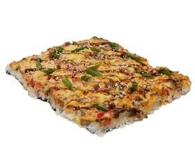 Японская пицца с курицей - Фото