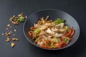 Рис с цыпленком и овощами - Фото