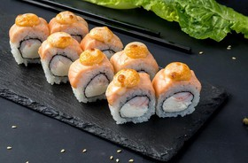 Запеченный лосось - Фото