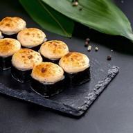 Запеченный лосось в чесночном соусе Фото