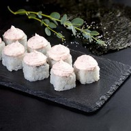 Сливочный лосось с креветочным соусом Фото