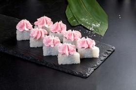 Сливочный лосось тобико - Фото