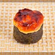 Запеченные суши эби Фото