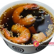 Мисо суп с окунем Фото