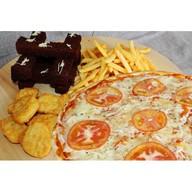 Набор №4 с пиццей Фото