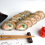 Лосось и тофу темпура Фото