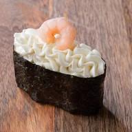 С креветкой и сливочным сыром Фото