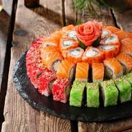 Суши-торт Филадельфия Фото