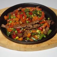 Говядина с овощами стир фрай Фото
