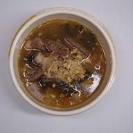 Суп с авелуком и бараниной Фото