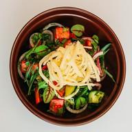 Овощной с сливочным сыром Фото