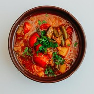Овощной суп Фото