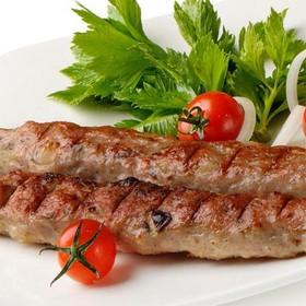 Люля-кебаб из говядины и свинины - Фото
