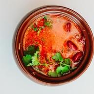 Суп с красной фасолью Фото