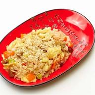 Рис с курицей,овощами,пряно-соевый соус Фото