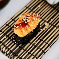 Суши запеченная креветка Фото