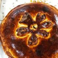 Пирог с капустой и рыбой Фото