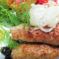 Люля-кебаб куриный Фото