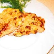 Филе куриное с грибами под сыром Фото