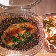 Обед салат + второе за 206 рублей Фото