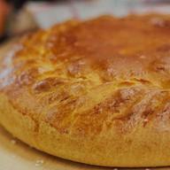 Пирог с курицей и рисом Фото