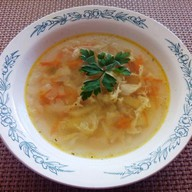 Суп куриный деликатесный Фото