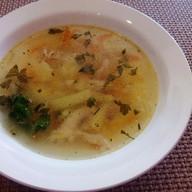 Куриный рисовый суп Фото