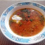 Харчо с курицей суп Фото
