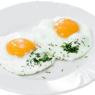 Яичница-глазунья из 2-х яиц Фото