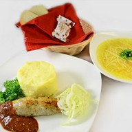 Комплексный обед с люля-кебаб (суп) Фото