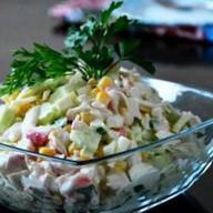 Крабовый салат весовой Фото