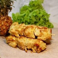 Курица с ананасами Фото