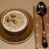 Грибной крем-суп с говядиной Фото