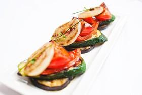 Овощи гриль с оливковым маслом - Фото