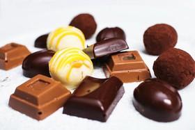 Шоколадные конфеты ручной работы - Фото